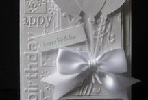 Embossing Folders & More / Lovely ideas on how to best use the embossing folders that you have and the ones you would like to have.