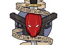 DC Comics tattoos