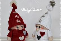 Haken: kerst/winter