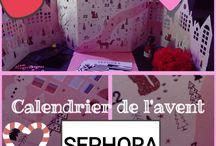Calendrier de l'avent Sephora 2017 (mama)
