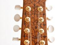 Guitar headstocks & features