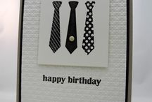 Masculine cards / by Diana Crawford