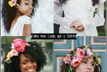 Penteados de casamento para cacheadas e crespas!