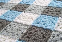 Mavi gri beyaz battanıye