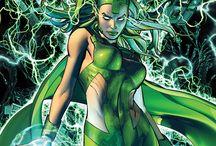 Polaris / Hija de Magneto, posee unos poderes similares a los de su padre (manipulación de energías electromagnéticas y creación de campos de fuerza). Incluso se cree que sus capacidades son superiores.