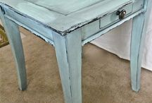 Vintage and shabby chic painted furniture ideas