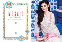 Mosiac   Elegance Collection 3 Piece Printed