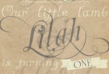 Little Lamb Birthday / Baby Shower / by Luc & Lilah Events