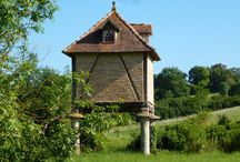 Dove cotes of South West France / Did you know that there are about 1700 dove cots in Tarn alone? A beautiful gem of regional architecture . Enjoy