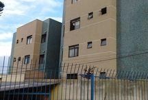 Edifício Garopaba - Curitiba / Revitalização de edifício no bairro Rebouças em Curitiba com grafiato CYZ.