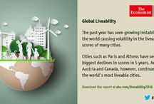 Liveability / The Economist Intelligence Unit's liveability rating quantifies the challenges that might be presented to an individual's lifestyle in any given location.