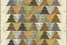 Quilts with trees / Квилты с деревьями