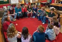 Morning Meeting for Beginners / Responsive Classroom Morning Meetings are daily gatherings that usually take place at the beginning of the school day. Teachers and students gather in a circle for a twenty- or thirty-minute meeting with four components: greeting, sharing, group activity, and morning message. / by Responsive Classroom