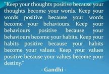 ~Only Positive Thoughts are allowed~
