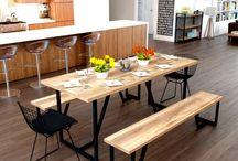 Yemek Odası Takımı - Endustriyel Mobilya