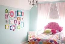 Big girl bedroom ideas / by Jessica Jarvi-Bergman