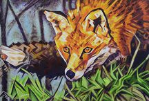 Original Paintings by Cameron Dixon / Original Works of art created by Cameron Dixon. I have been working on painting more this year and plan on painting more animals and subjects.