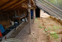 Mom's Cob Greenhouse (to be) / This is a collection of cob greenhouse ideas for my Mom. We will be starting a cob greenhouse project as soon as weather permits!