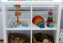 Reggio Toddler Shelves