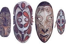maschere papua nuova guinea