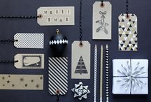 Gift wrapping and tags / by Cartoloji