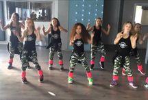 Dansing/aerobic i gym