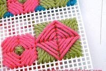 lienzos y crochet