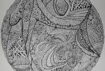 Zentangle en zendala