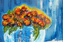 Acrylbilder Blumen