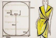 Mis fave costuras / Los modelos de vestidos o ponchos o lo q sea en costuras