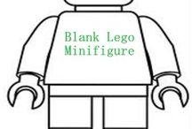 Printable Legofigure
