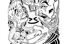 wirrwarr / zeichnungen drawings art