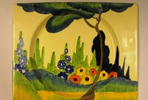 The Colours of Clarice Cliff / The sensational work of Clarice Cliff