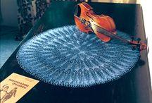 Doilies, Mandalas (RIP Wink xx) & Tablecloths (knit and crochet)