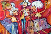 Schneider Csilla Krisztina festményei / paintings / www.scsk.hu