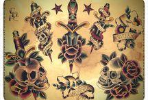 Oldschoolowe tatuaże