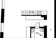 Architecture, floor plans for the home