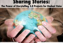 My digital storytelling e-portfolio / Resources and tools for digital storytelling in the English Classroom