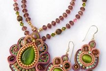 soutache- pendants