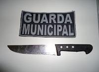 RONDAC prende homem após tentativa de assalto com faca