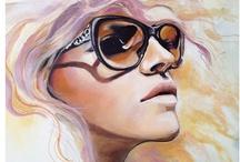 Jessica Rae Sommer / Mixed Media, Fashion Illustrations