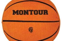 Sports Rally Towels / Show your school spirit with these basketball shaped rally towels! Available in many other sports!