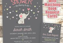 Invitations baby shower