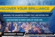 Discover Your Brilliance With Amandeep Thind / Discover Your Brilliance With Amandeep Thind! Are you ready to discover what makes you truly unique? Book your tickets on Bookmyseats.co.in and unleash the great power in you.