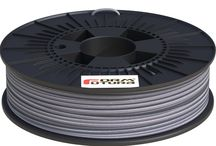 Thermochrome EcoPLA™ / Our Thermochrome Grey EcoPLA™ filament is a revolutionary new colour-changing 2.85mm PLA filament. This Thermochrome Grey EcoPLA™ filament has an opaque anthracite grey colour when the temperature of the material is below 29° C. However, when the material reaches a temperature of 29° C, or above, it will change into a transparent colour….! Heat up the filament with warm water or a hair dryer.  www.formfutura.com/thermochrome/