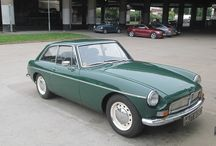 Green MGB GT at the David Manners Group / A lovely Green MGB GT, not used in years and an absolute bargain at the David Manners Group http://www.jagspares.co.uk/Abingdon/PartSearch.asp / by David Manners Group
