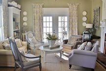 Design inspiration-family room / by Roz Wallace