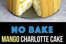 Mango taart