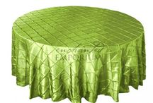 Pintuck Round Table Cloths for Hire