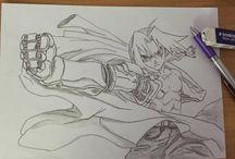 Draw Art and Manga / draw art manga sketch pencil
